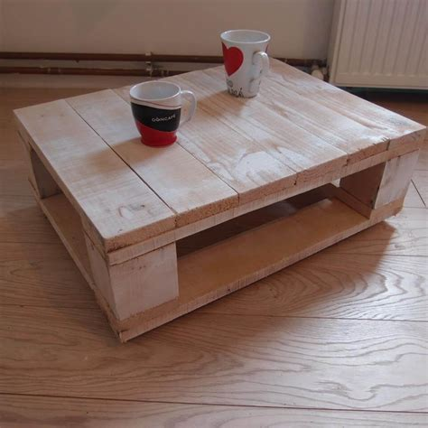 Home Made Coffee Table Adorable Pallet Coffee Table Pallet Furniture Diy