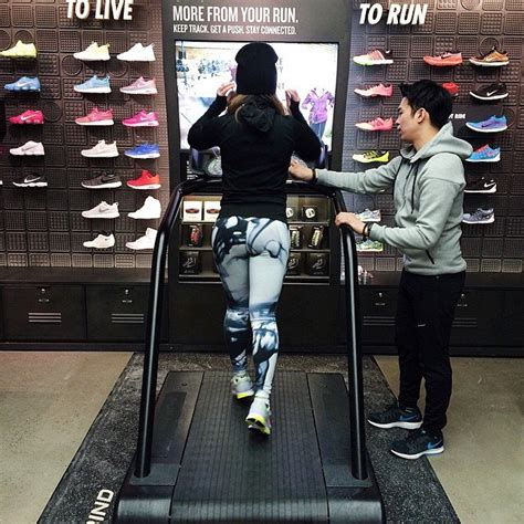 running shoe store nyc redesigned seattle nike store offers gait analysis