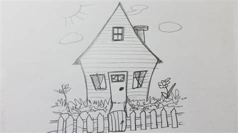 comment dessiner une maison facile