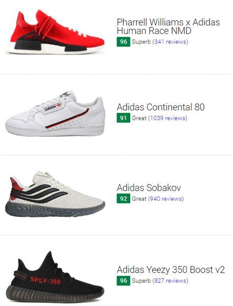 adidas sneakers august  runrepeat