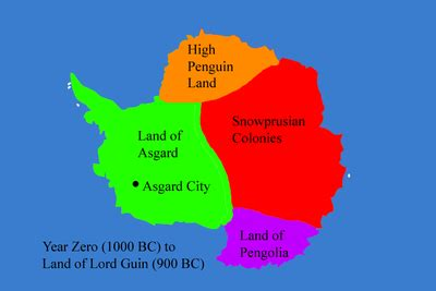 where do penguins live map map of where king penguins live images frompo 1