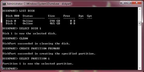 format hardisk melalui diskpart cara install windows ke hardisk eksternal blogger cerdas