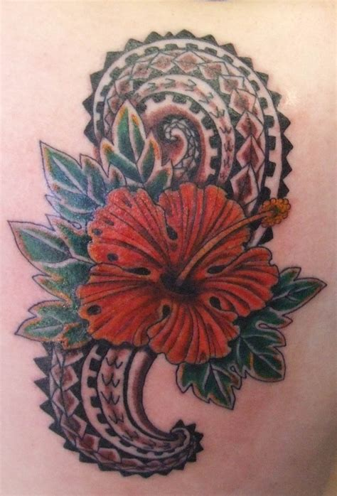 hibiscus tribal tattoos hawaiian tattoos designs ideas and meaning tattoos for you