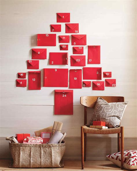 Handmade Advent Calendar Ideas - handmade advent calendars martha stewart