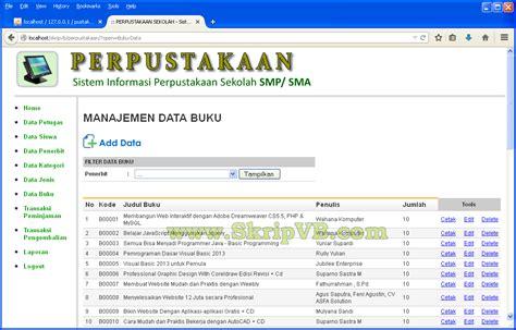 buku membuat website dengan php dan mysql jasa pembuatan program skripsi informatika membuat