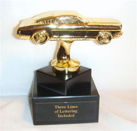 Buying A Car With Ebay Gift Cards - metal ford mustang trophy metal mustang car trophy car trophies ford ebay