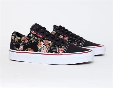 Vans Skool Classics Canvas Black Dope vans skool floral black sneakers for