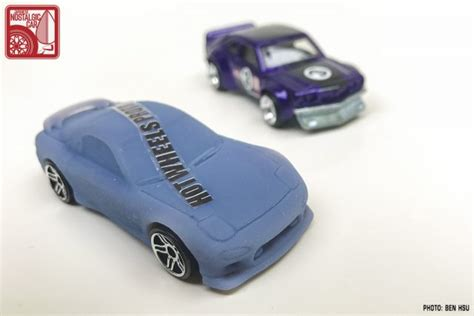 Wheels 95 Mazda Rx 7 Rx7 Hotwheels Biru Hw Blue minicars wheels mazda rx 7 fd3s prototype japanese