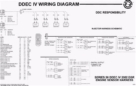 detroit diesel series 60 ecm wiring diagram wiring