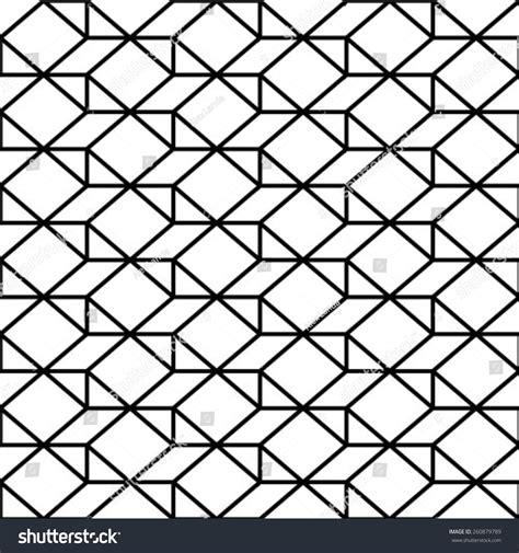 seamless pattern shutterstock abstract geometric seamless pattern black white stock