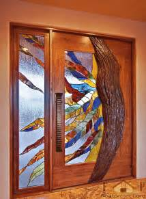 Stained Glass Doors Interior Glass Interior Doors Home Designs Project