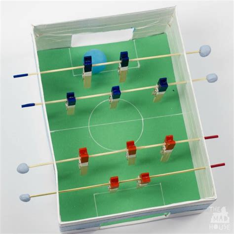 How To Make A Table Football by Five Seasonal Craft Activities Tots 100