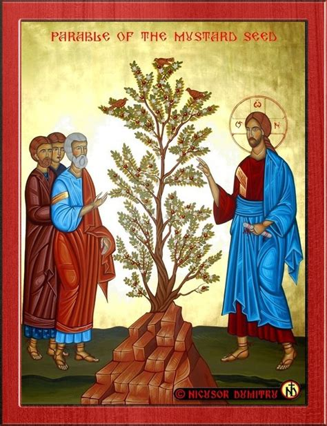 St Muctard the is coming the parable of the mustard seed who are the birds of the air