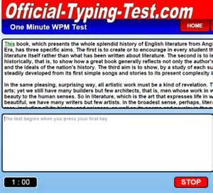 80 best free online typing speed test websites