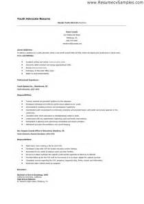 Resume Template For Youth Worker Doc 700990 Cv Exles Youth Work Bizdoska