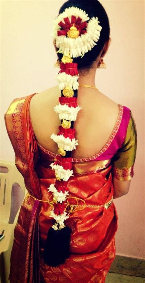bridal hairstyles in south india traditional south indian bride in bridal braid hairstyle