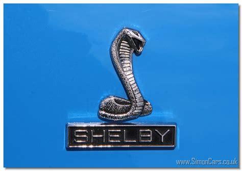 shelby gt350 badge simon cars shelby cars