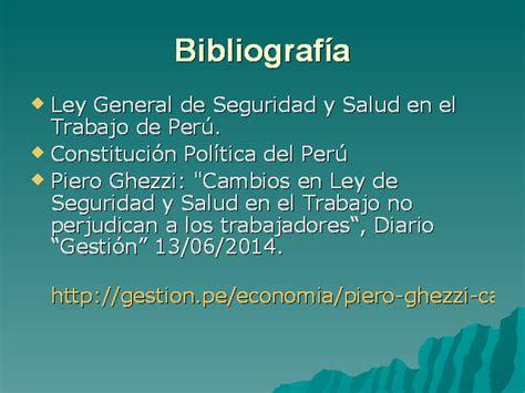 ley del trabajo en venezuela y la seguridad y salud laboral flexibilizaci 243 n de la ley de seguridad y salud en el