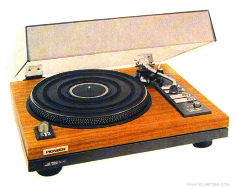 pioneer pl  manual electronic direct drive turntable vinyl engine
