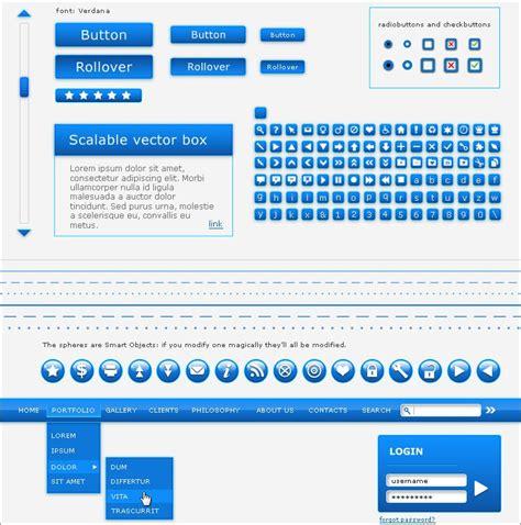 web layout ui kit 31 free web ui kits choose your best interface design tool