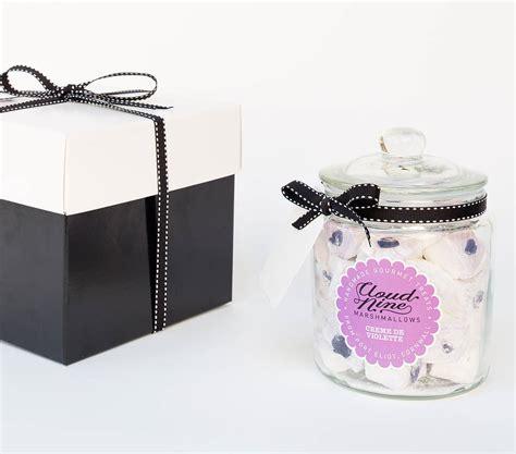 marshmallow gifts gourmet marshmallow gift jar by cloud nine marshmallows