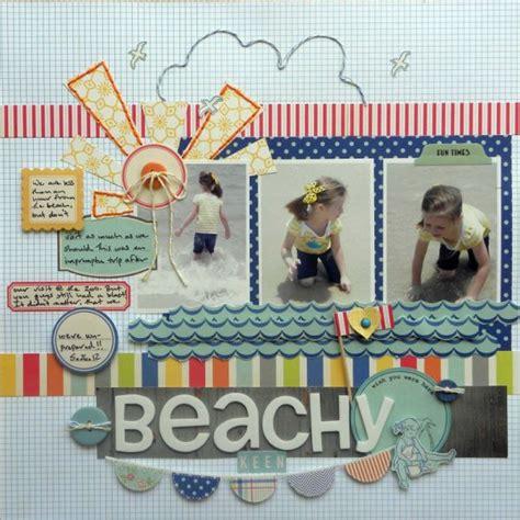 scrapbook layout beach ideas for scrapbooking beach photos