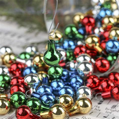 miniature glass ornaments ornaments and winter crafts