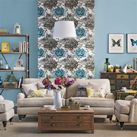Blue And Beige Living Room Blue And Beige Living Room Housetohome Co Uk