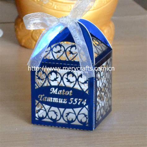blue centerpiece boxes black white wedding favor boxes white paper boxes