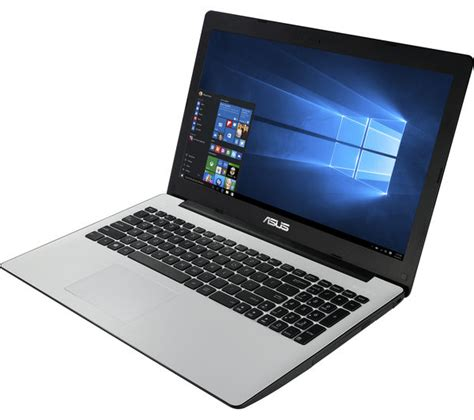 Laptop Asus White asus x553sa 15 6 quot laptop white livesafe unlimited 2016 deals pc world