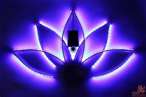 Led Fan contour led fans ignis lotus buy with worldwide shipping