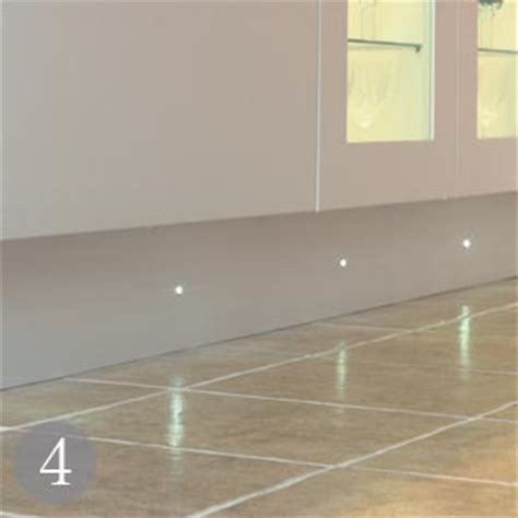 kitchen plinth lighting great new looks for kitchen lighting real homes