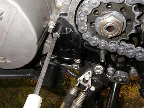 Ktm Clutch Bleeding Chain Sprocket Install