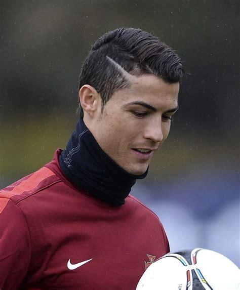 Ronaldo Hair Lines   60 cristiano ronaldo hairstyle from year to year