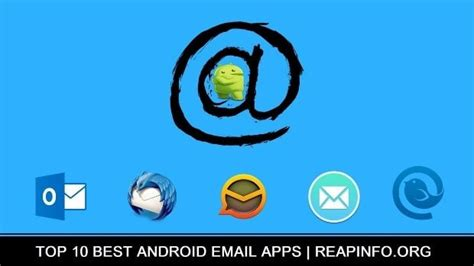 best email app for android 10 best android email apps 2019