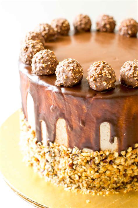 chocolate cake ferrero rocher ferrero rocher cake and 5th blogiversary chocolate connie