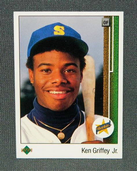 Deck Ken Griffey Jr by 1989 Deck Ken Griffey Jr Rc High Grade