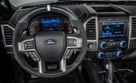 ford raptor interior 2017 2017 ford f 150 raptor price specs design interior