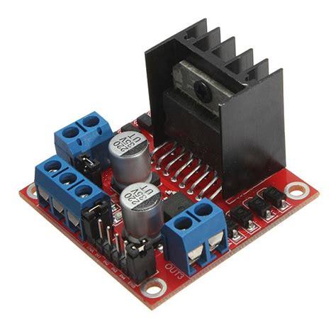 motor driver arduino l298n dual h bridge dc stepper motor driver module