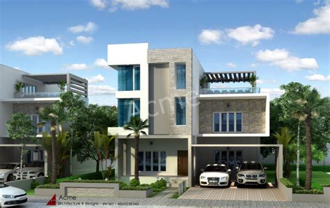 contemporary home design plans contemporary house design plans kerala model home plans