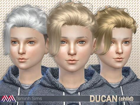 the sims resource kids hair 17 best images about sims 4 child on pinterest bad