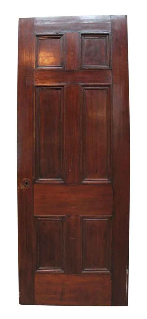 recessed panel doors colonial style six recessed panel door with applied