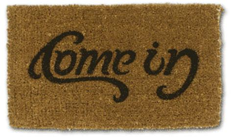 Doormat Meaning In come in go away doormat illusion
