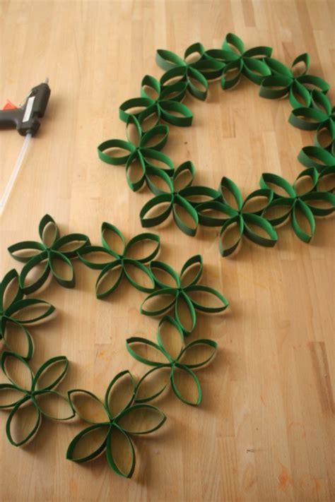 len dekorieren basteln mit klopapierrollen und dekoration als diy