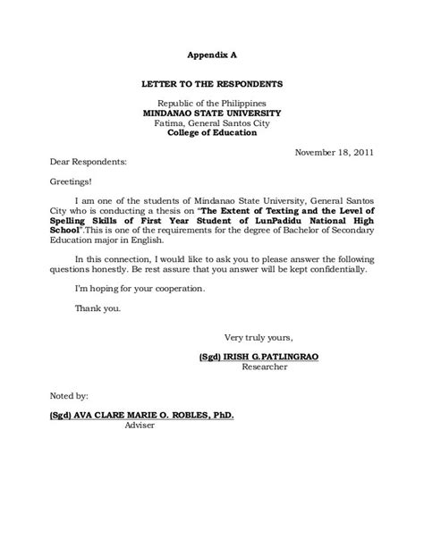 sle letter to request permission to conduct research permission letter to visit pany