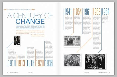 graphic design layout magazine magazine timeline destry kiser design timelines