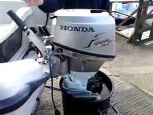 15 Hp Honda Outboard Honda 15 Hp Outboard On Terhi Micro