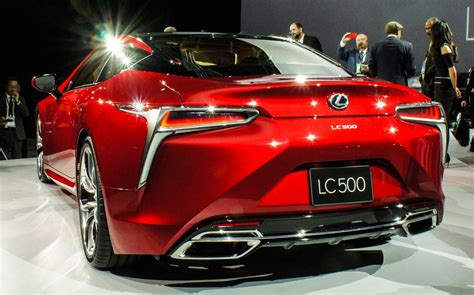 lexus revives style sport  lc  coupe pictures