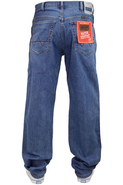 Wrangler Spencer Selvedge Celana Selvedge pantalon jean homme wrangler