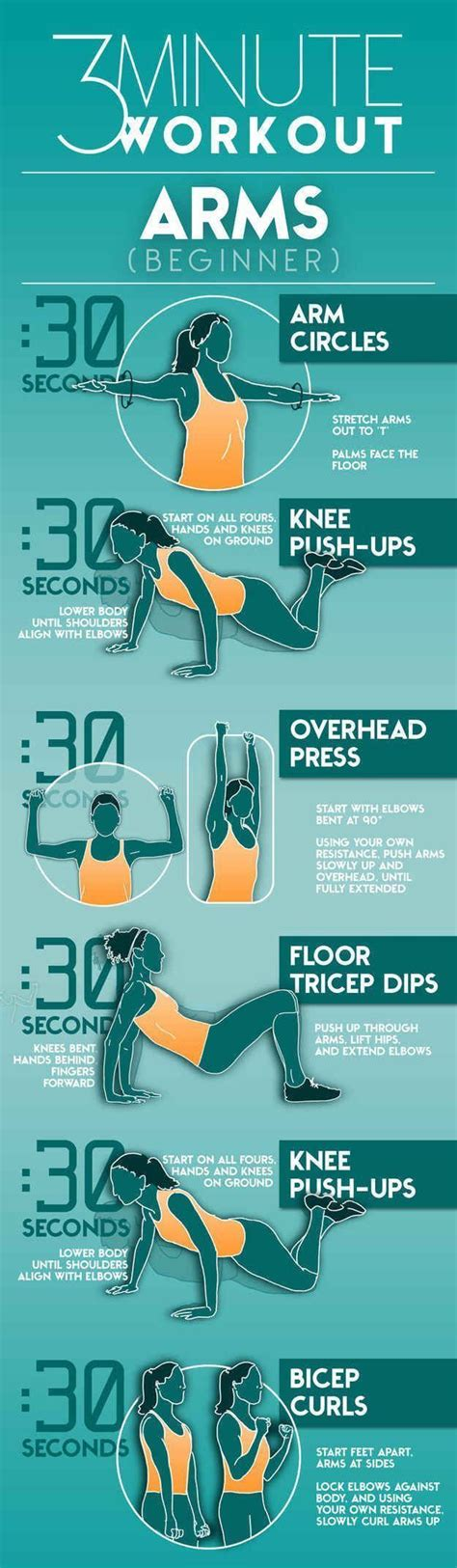 25 best ideas about easy arm workout on arm